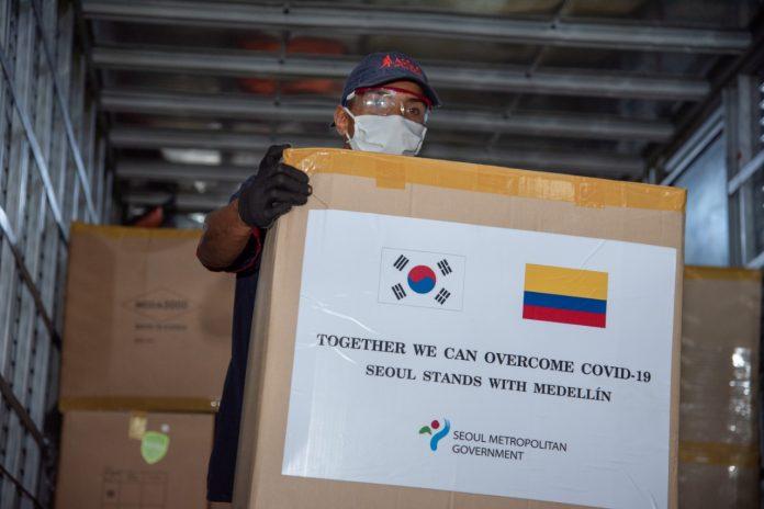Ayudas humanitarias de Corea