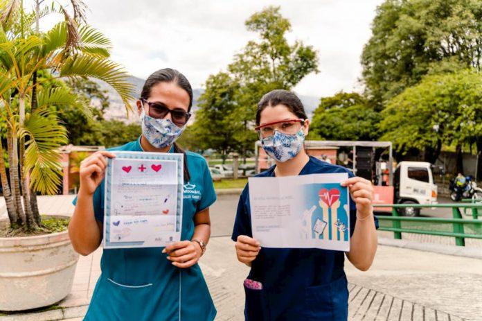 Cartas para personal de la salud