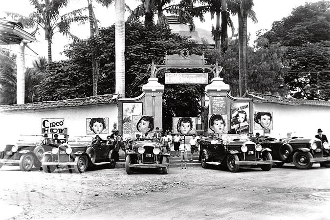 Circo Teatro España (barrio Boston). Fotografía tomada en 1934 por Francisco Mejía. Cortesía Archivo Fotográfico Biblioteca Pública Piloto