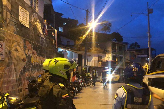 674 comparendos durante el toque de queda en Medellín