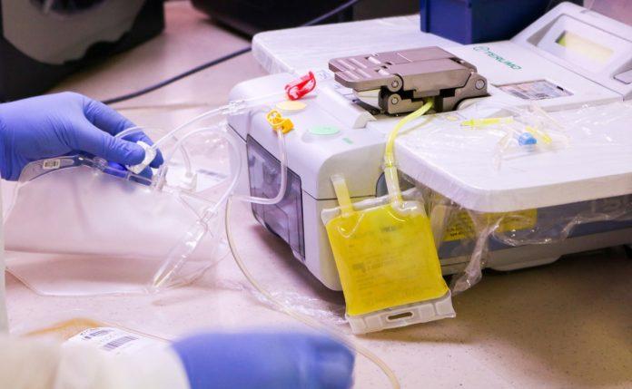 Ensayo clínico con plasma de pacientes COVID