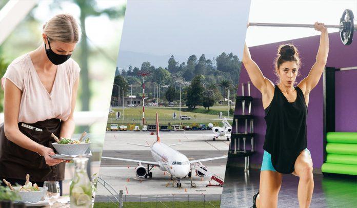 Calendario de reaperturas del comercio en Medellín y el Aburrá