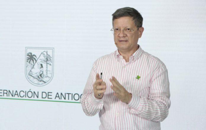 Gobernador de Antioquia Encargado Luis Fernando Suárez