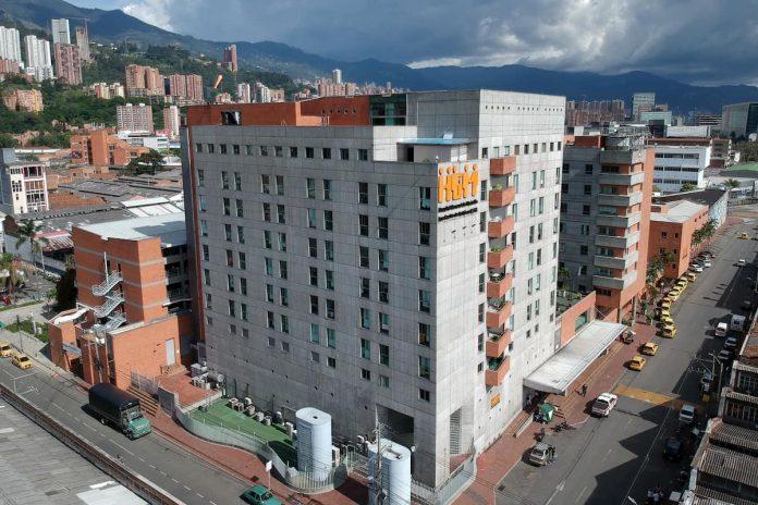 misión médica Hospital General de Medellín