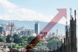Pico de contagios en Medellín