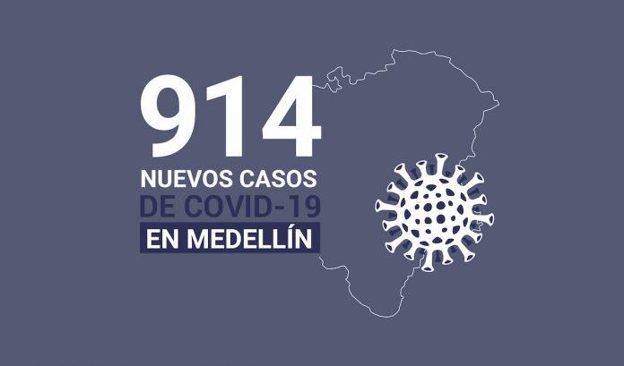 Reporte COVID19 del 23 de agosto de 2020 Medellín