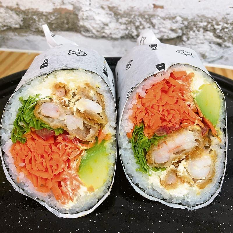 Roll-Up Sushi Burrito Medellín Gourmet