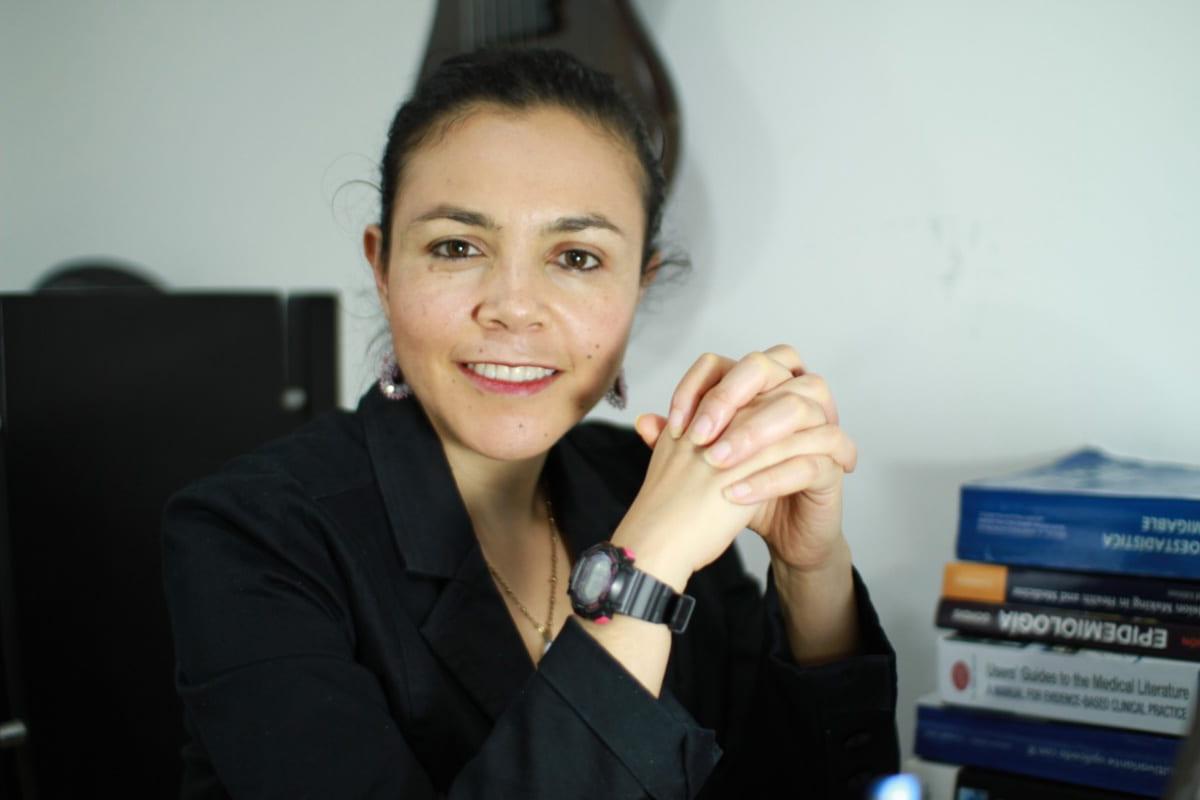 Yessica Giraldo, epidemióloga y docente de la Universidad CES