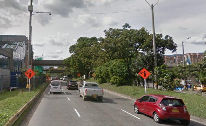 Cierre vial en la avenida Regional
