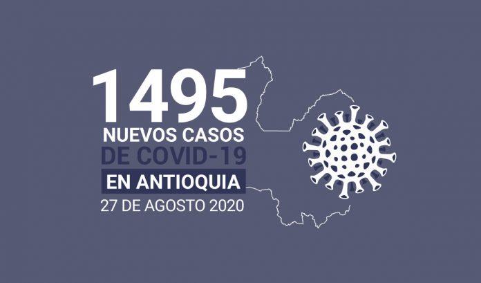 casos covid-19 en antioquia el 27 de agosto