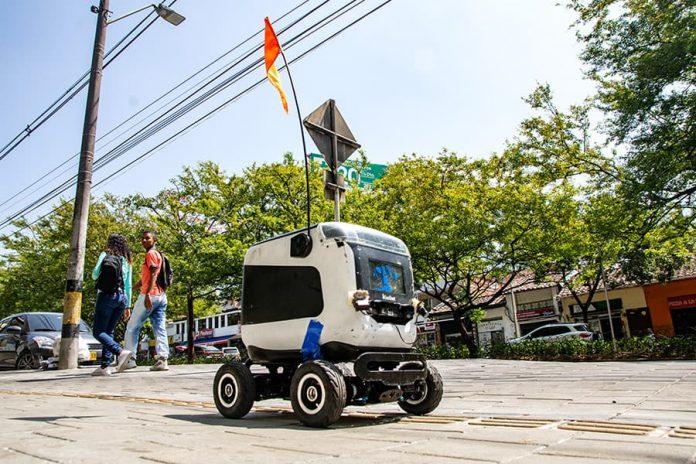 Kiwibots. Los robots que entregan domicilios en Medellín