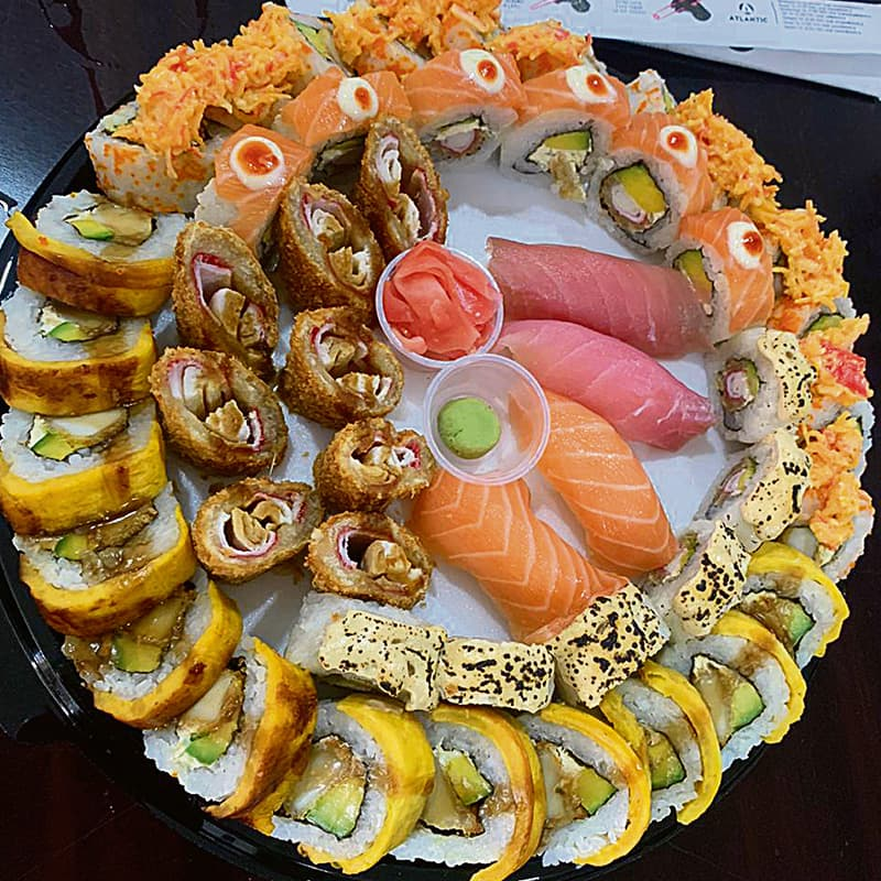 sushi service medellin gourmet