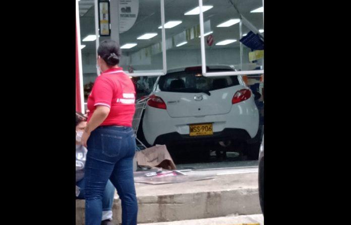 Accidente en D1 de Castropol
