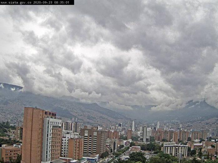 Calidad del aire SIATA en Medellín el 23 de septiembre de 2020