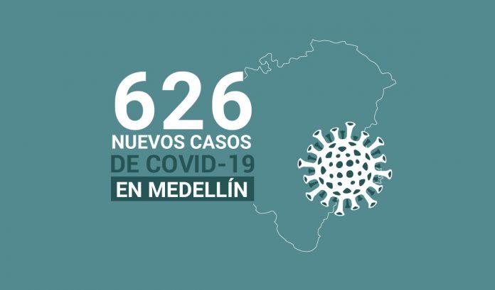 Casos de COVID-19 en Medellin 12 de septiembre