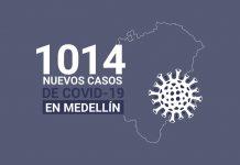 Casos de COVID-19 en Medellin 28 de septiembre