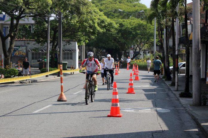 Regresa la ciclovía a Medellín