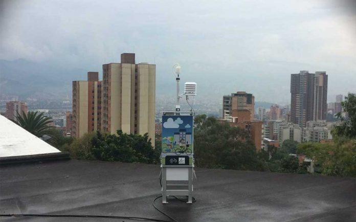 calidad del aire moderada en Medellín y el Valle de Aburrá