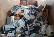 residuos de aparatos eléctricos