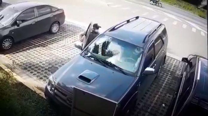 Modalidades de robo en parqueaderos