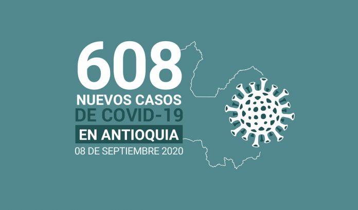 REPORTE DE CASOS COVID 19 DEL 8 DE SEPTIEMBRE DE 2020