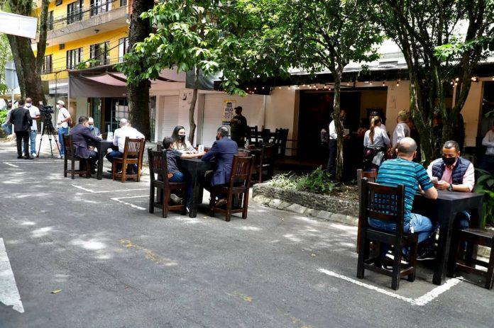 Reapertura de restaurantes en Envigado