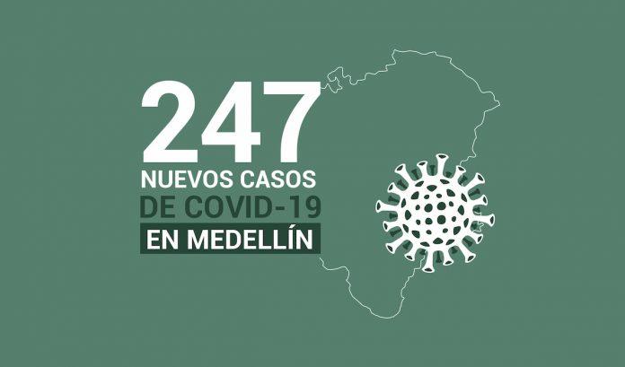 Mapa reporte de casos nuevos de COVID19 del 22 de septiembre de 2020