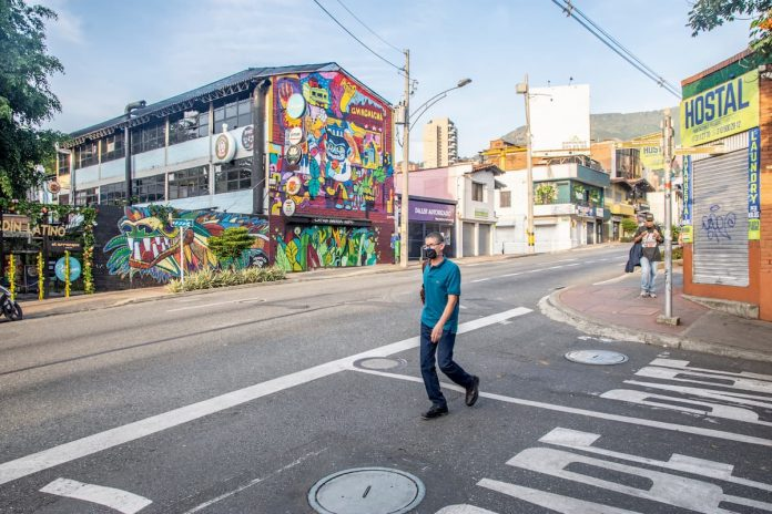 Uso del tapabocas obligatorio en Medellín