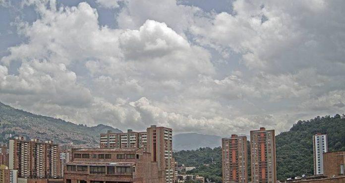 calidad del aire moderada en Medellín