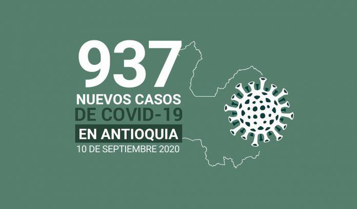 rEPORTE DE CASOS COVID 19 DEL MES DE SEPTIEMBRE DE 2020 10
