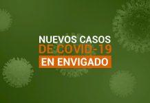 Casos de COVID-19 en Envigado para el miércoles 21 de octubre