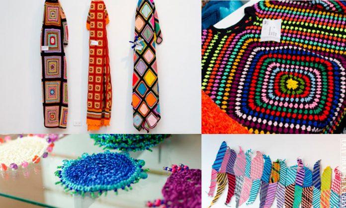 Bordarte, exposición de bordados y tejidos hechos por artesanas durante la cuarentena