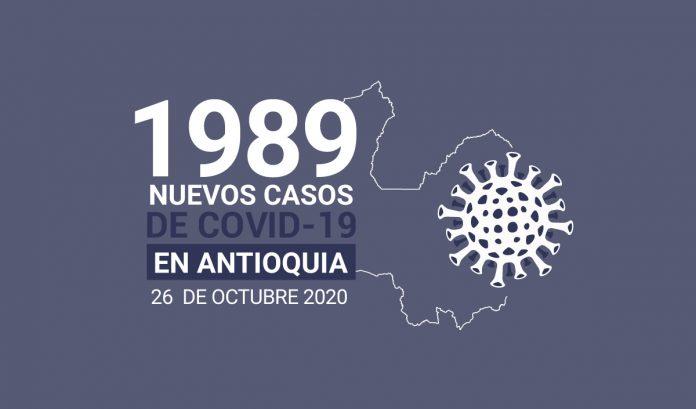 Nuevos casos de coronavirus en Colombia, hoy 23 de octubre