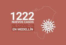 Casos de COVID 19 en Medellín 19 octubre
