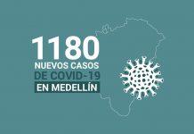 Casos de COVID-19 en Medellín 30 octubre