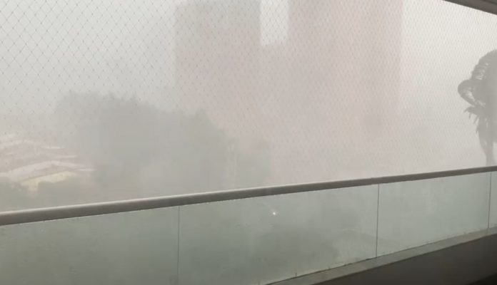 Fuertes lluvias en el valle de Aburrá
