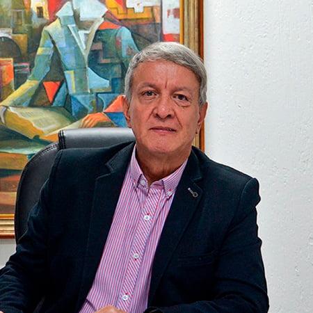 Libardo Álvarez, rector del Politécnico Jaime Isaza Cadavid.
