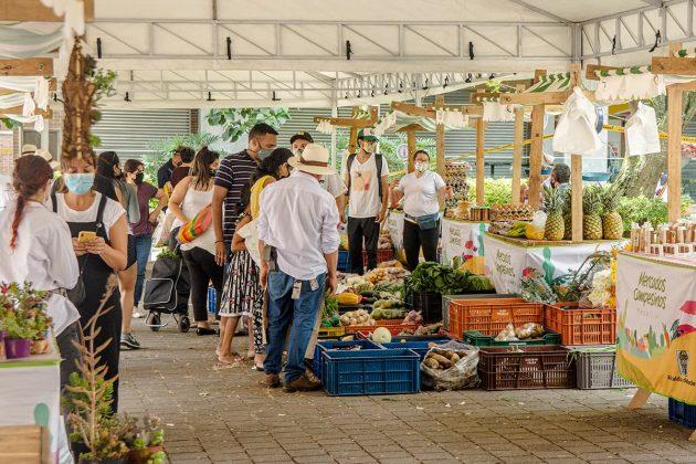 Mercados Campesinos volvieron a Medellín.