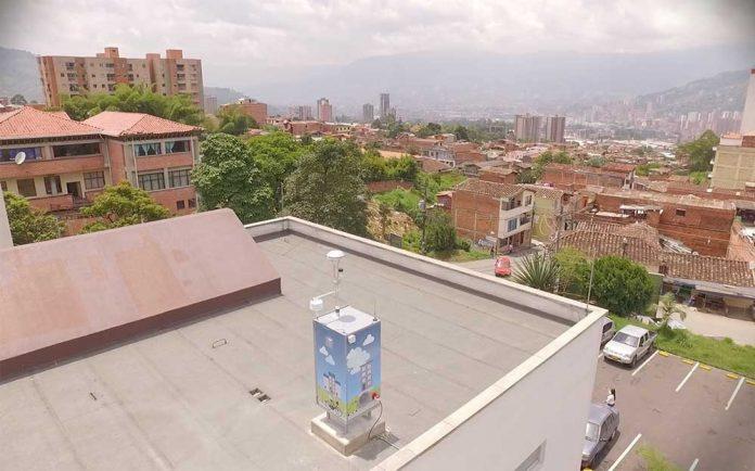 calidad-de-aire-de-medellin-Estación #78 - La Estrella - Hospital