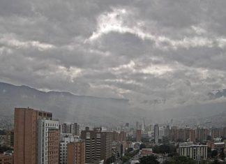 calidad del aire moderado en Medellín