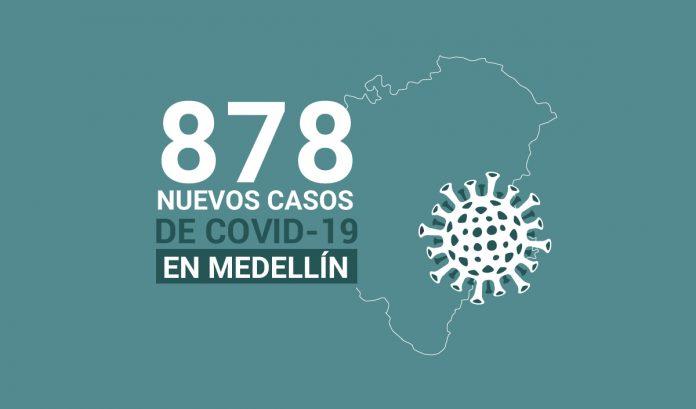 Registro de casos de COVID-19 en Medellín este jueves 12 de noviembre