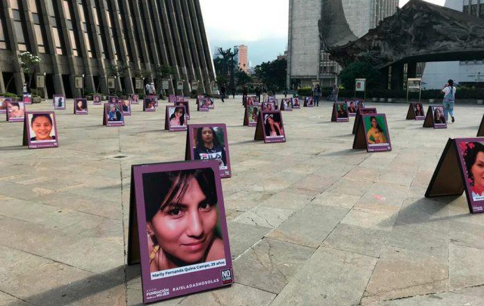 Conmemoración #NiUnaViolenciaMás, 25 de noviembre