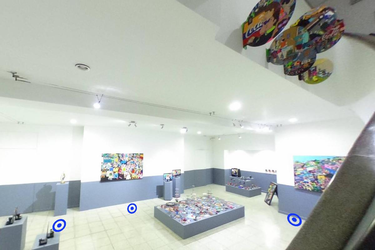 Jorge Alonso Zapata. Testigo de excepción, Exposición 360º de la Alianza Francesa
