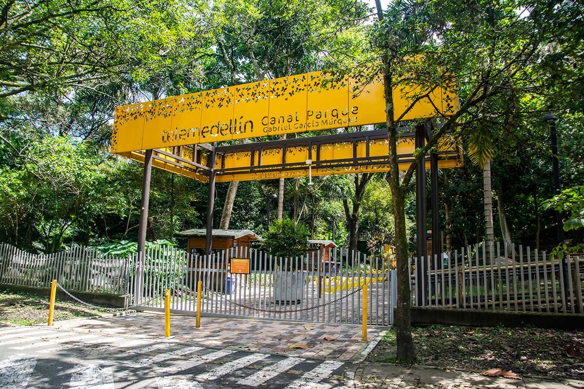 Telemedellín Canal Parque Gabriel García Márquez 02