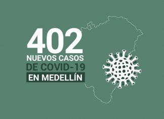 Casos covid-19 Medellín 17 de noviembre