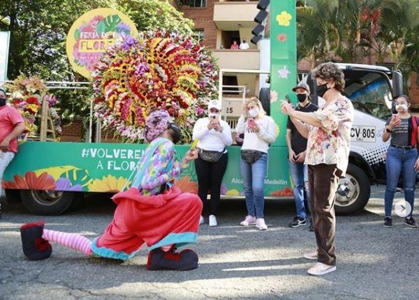 Feria de las Flores Medellín del 5 de noviembre