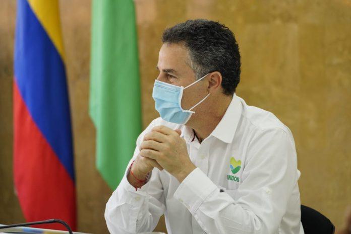 Aníbal Gaviria, aislado hasta confirmar o descartar un posible contagio por COVID-19-2