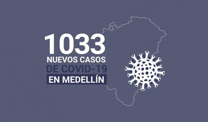 Casos de COVID-19 en Medellín 23 diciembre