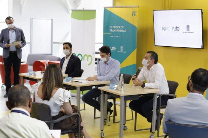 EPM y Ruta N inauguran el Centro de Innovación para impulso del emprendimiento digital