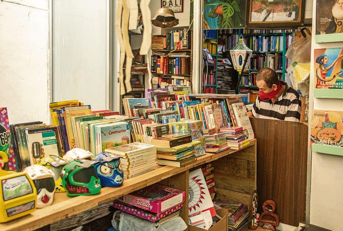 Un aspecto de El Ocio, de la librera Ángela Isaza. Calle 33 b con carrera 43, Envigado.